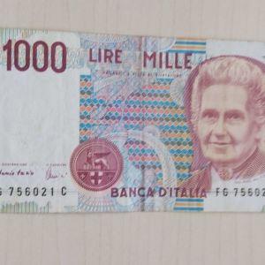 1000 ΙΤΑΛΙΚΕΣ ΛΙΡΕΣ / ITALY LIRE 1990