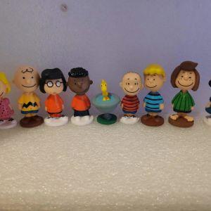12 Φιγουρες Ο Σνούπι & Ο Τσάρλι Μπράουν (Peanuts Movie)
