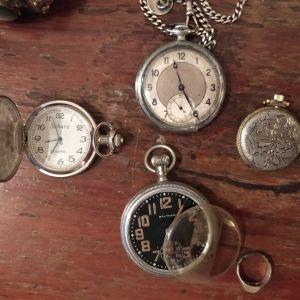 5 ρολόγια τσέπης