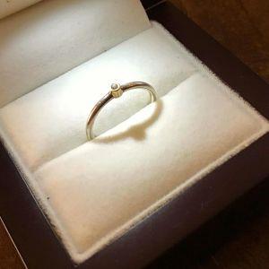 Δαχτυλίδι Επώνυμο Γνήσιο Ασήμι 925 με Ζιργκόν Μονόπετρο