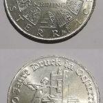 Πέντε αναμνηστικά Αυστριακά ασημένια νομίσματα. Schilling
