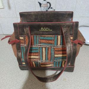 Doca τσάντα καφέ