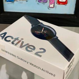 Samsung Galaxy Watch Active 2 44mm Stainless Steel Black