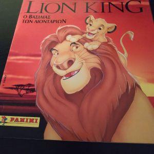 THE LION KING PANINI ελληνικό άλμπουμ χωρίς αυτοκόλλητα