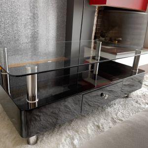 Τραπέζι σαλονιού υψηλής  ποιότητας - Μαύρο / λάκα  high gloss