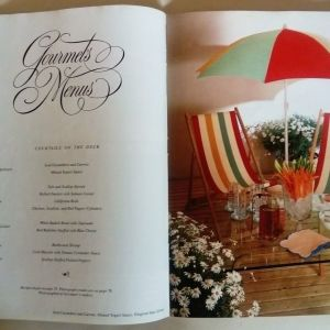 Gourmet magazine Aug.1983