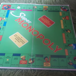 Ταμπλό Super Monopoly με δραχμές