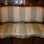 Σετ σαλονιού, κλασικό - Καναπές, 2 πολυθρόνες, τραπεζάκι