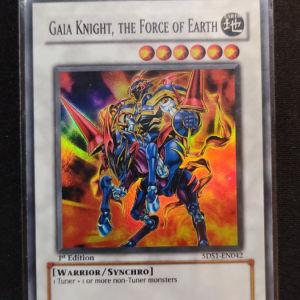 Gaia Knight the Force of Earth Super Rare
