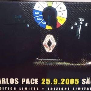 *LIMITED* F1 FERNANDO ALONSO RENAULT R25 WORLD CHAMPION 2005-BRAZIL GP / HOT WHEELS / 1:18 / DIECAST