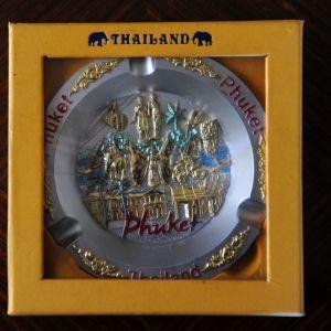 Διακοσμητικό τασάκι  από την Ταϊλάνδη στο κουτί του