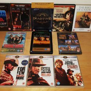 Συλλογη 26 Ταινιων Γουεστερν +σειρα Deadwood