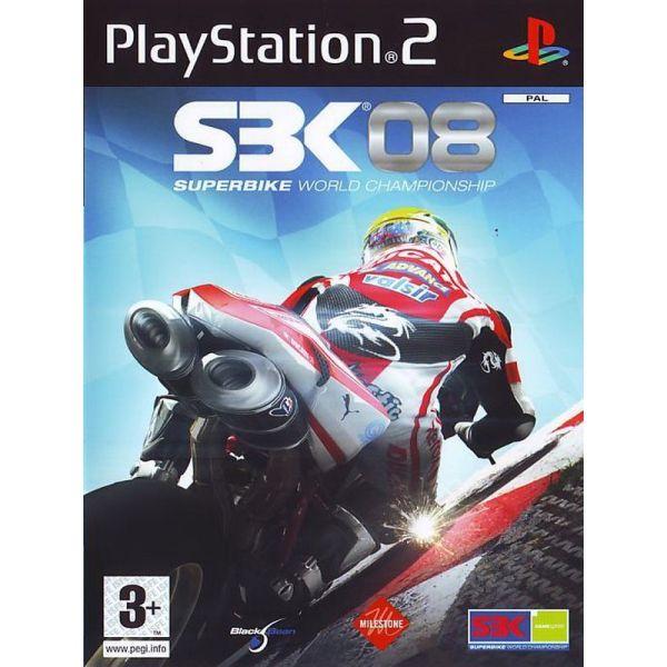 SBK 08 SUPERBIKE WORLD CHAMPIONSHIP - PS2