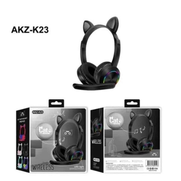 asirmata akoustika - Cat Headphones - K23 - Black