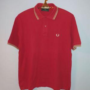 Fred Perry polo shirt κόκκινο