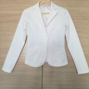 Άσπρο Σακάκι Bershka No S