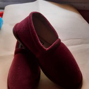 παντοφλακια Νο35/36 βελουτεadams shoes