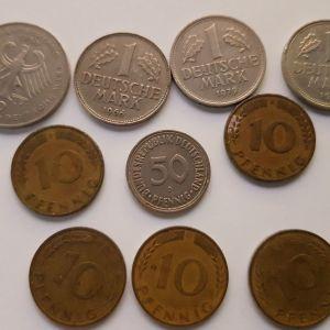 Παλιά Γερμανικά νομίσματα - Μάρκα