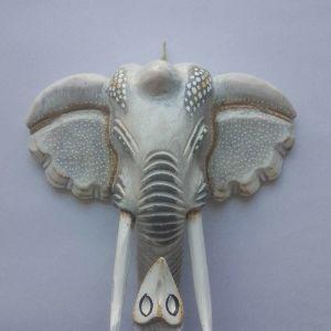 ελέφαντας εποτοιχιος ξυλινος