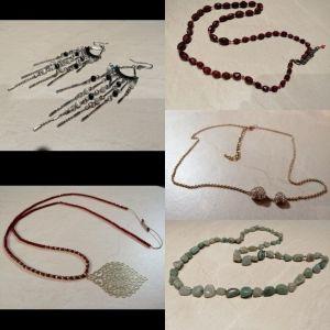 Κολιέ & σκουλαρίκια