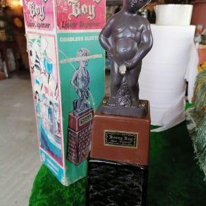 Παλιο συλλεκτικο μπουκάλι με το κουτι του Bonny Boy
