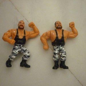 φιγούρες The Bushwackers tag team γίγαντες του κατς WWF