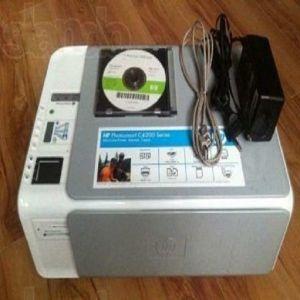 ΠΟΛΥΜΗΧΑΝΗΜΑ Photosmart HP C4200 (φαξ, εκτυπωτής, σαρωτής και φωτοτυπικό)