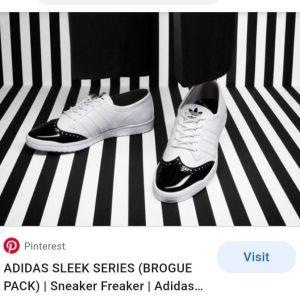 adidas sleek series no 40 sneakers