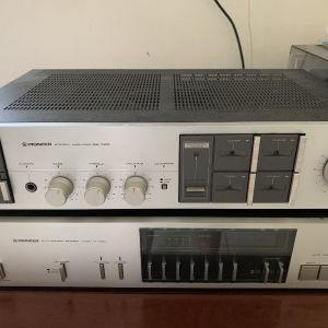 Pionneer ηχοσύστημα άριστο με ηχεία δικά του