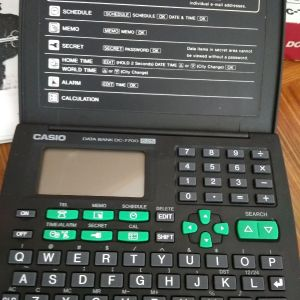 CASIO Ψηφιακή Ατζέντα/ Υπολογιστής