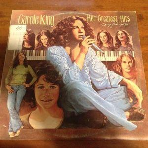 Carole King – Her Greatest Hits - Songs Of Long Ago. Δίσκος Βινυλίου 1978 ( Folk Rock, Pop Rock )
