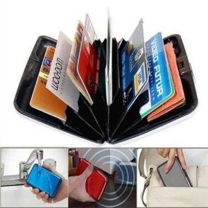 Πορτοφόλι τσέπης μετρητών-πιστωτικών καρτών