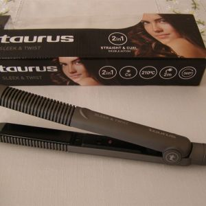 Ψαλίδι ισιώματος μαλλιών Taurus Sleek & Twist