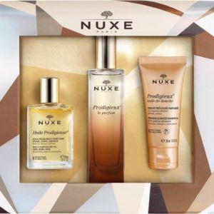 Nuxe Set Perfect Harmony Prodigieux Le Parfum 50ml, Huile Prodigieuse 30ml & Prodigieux Huile De Douche 30ml