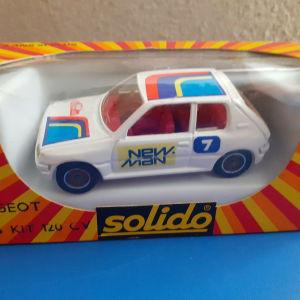μεταλλικο αυτοκ. SOLIDO 1/43 PEUGEOT 205 KIT 120 CV - Rallye Monte Carlo