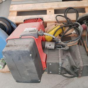 Ηλεκτρικό Παλάγκο Αλυσίδας 1ΤΝ με φορείο DEMAC