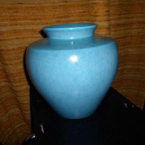 βάζο σε χρώμα τουρκουάζ