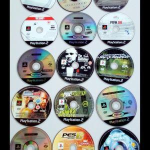 6.ΣΥΛΛΟΓΗ με 15 παιχνιδια PS2