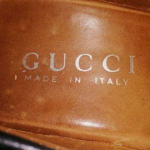 Αντρικά παπούτσια GUCCI 41 νούμερο γνήσιο.