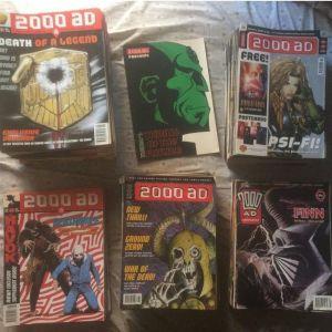 Συλλογή - 2000aD (217 τεύχη μεσαία νούμερα)