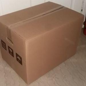 Κούτες κιβώτια κουτιά συσκευασίας 50 εκ Χ 35 εκ Χ 35 εκ -5φυλ- (50 τεμ)