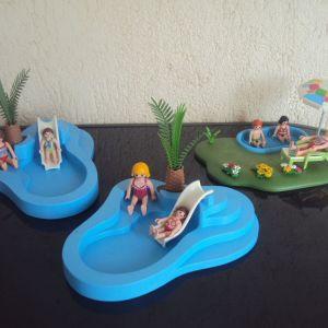Playmobil.Πισινες.