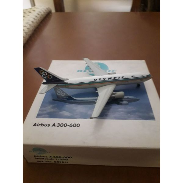 aeroplano OLYMPIC  AIRWAYS, AIRBUS A300-600