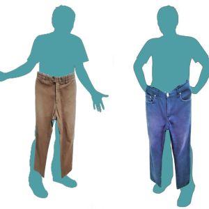 2 Αντρικά επώνυμα παντελόνια μαζί 3€