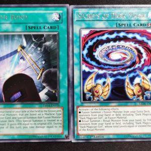 Secrets of Dark Magic Rare + Power Bond Rare