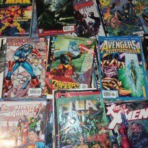 Πωλείται μεγάλη συλλογή αμερικανικών κι ελληνικών κομικ!!!
