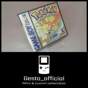 Pokemon Gold Gameboy Color custom case