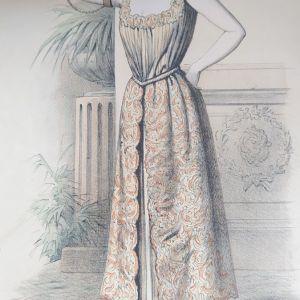 Χορεύτρια όπερας μπαλέτου 1889 χρωμολιθογραφια Paris 27x37cm