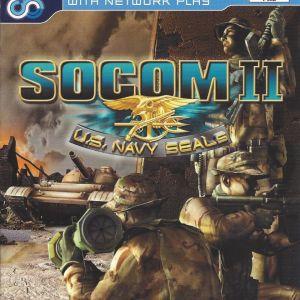 PS2 Game -SOCOM II