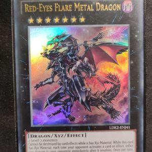 Red- Eyes Flare Metal Dragon Ultra Rare